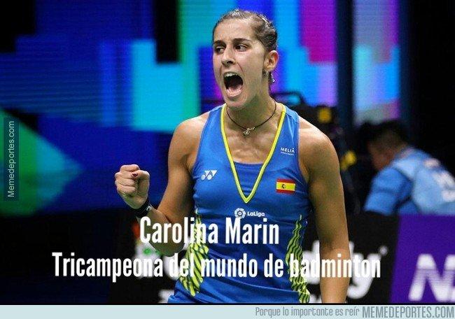 1046860 - Carolina Marín lo ha vuelto a hacer