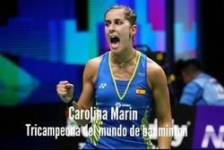 Enlace a Carolina Marín lo ha vuelto a hacer