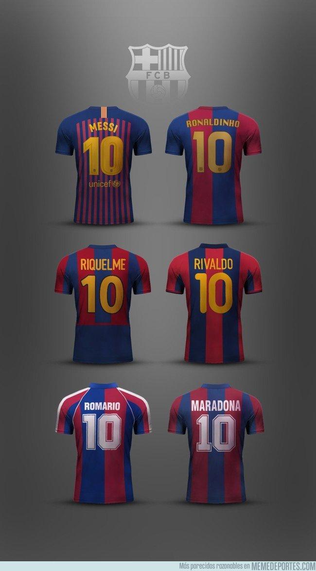 1047102 - El 10 del Barça. Puro talento