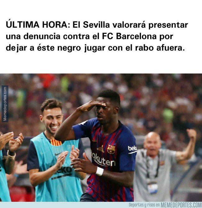 1047522 - El Sevilla afirma que jugar con Dembélé es ilegal