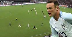 Enlace a Rooney no fue a USA a pasearse, tremenda carrera y gran asistencia para dar la victoria a los de Washington