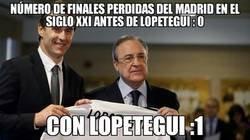 Enlace a Lopetegui batiendo récords en el Madrid