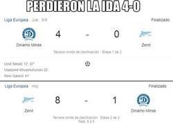 Enlace a El Zenit demostrando un poco de fe en los playoffs de Europa League