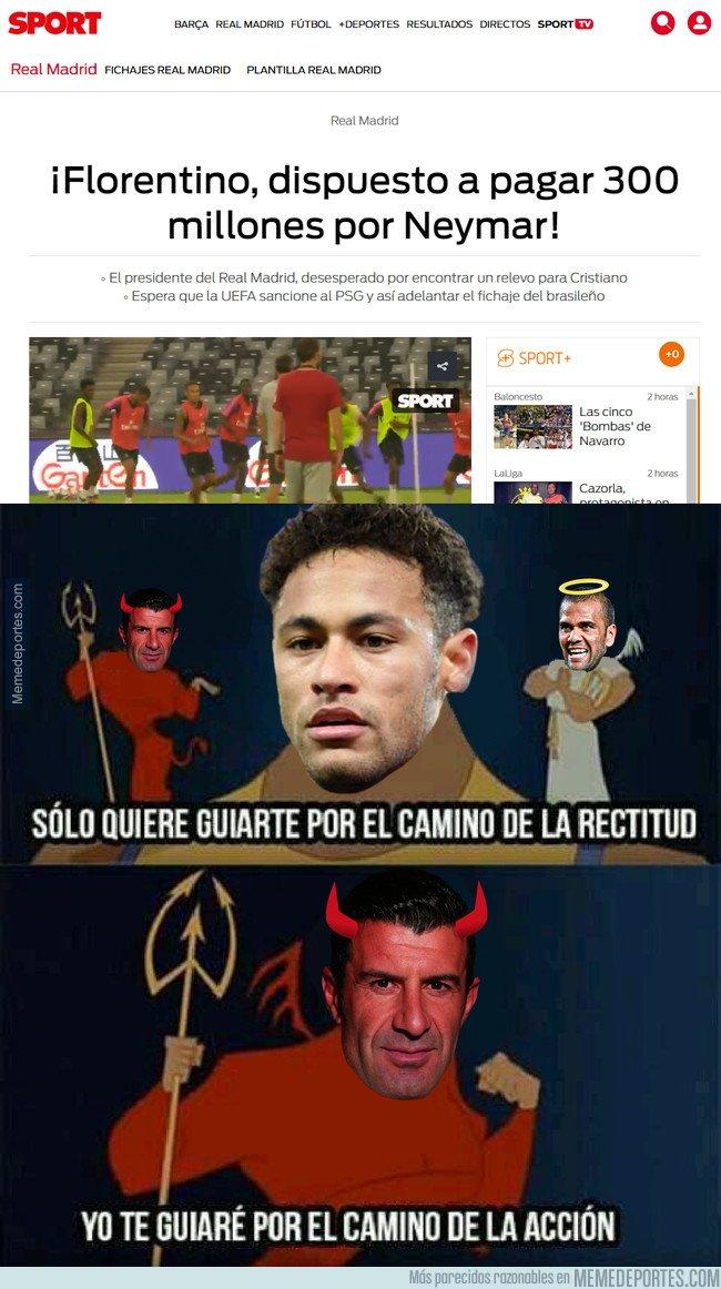 1048034 - Figo guiando a Neymar