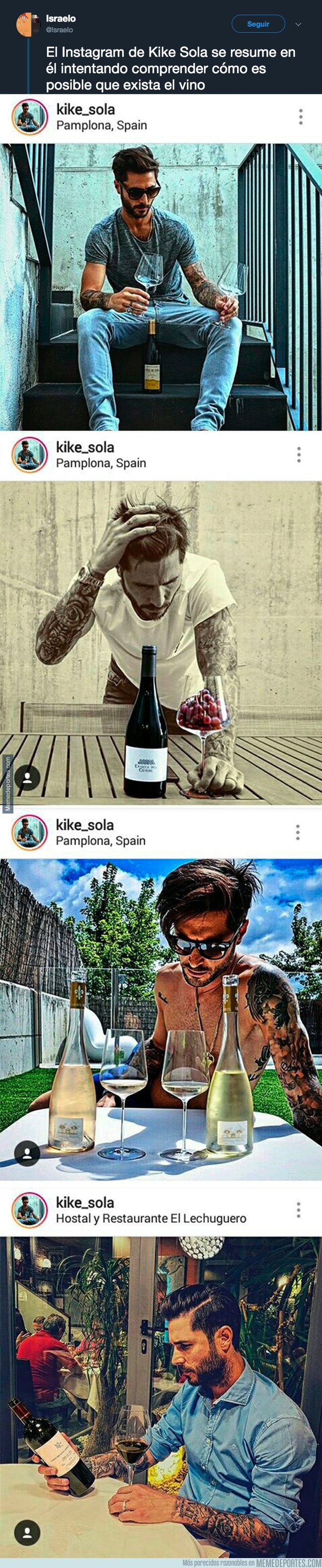 1048190 - Todo el mundo se está riendo con el Instagram de Kike Sola al descubrir su máxima curiosidad