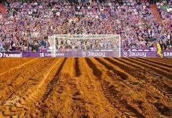 Enlace a ¡PÍNCHAME! Nos llegan nuevas imágenes del estado del campo del Valladolid.