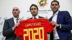Enlace a La Selección Española felicita a Julen Lopetegui por su 52 cumpleaños y Twitter trolea con sus respuestas