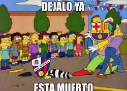 Enlace a El Barça sin piedad contra el Huesca