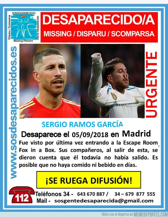 1049795 - Lost Ramos. Sigue desaparecido