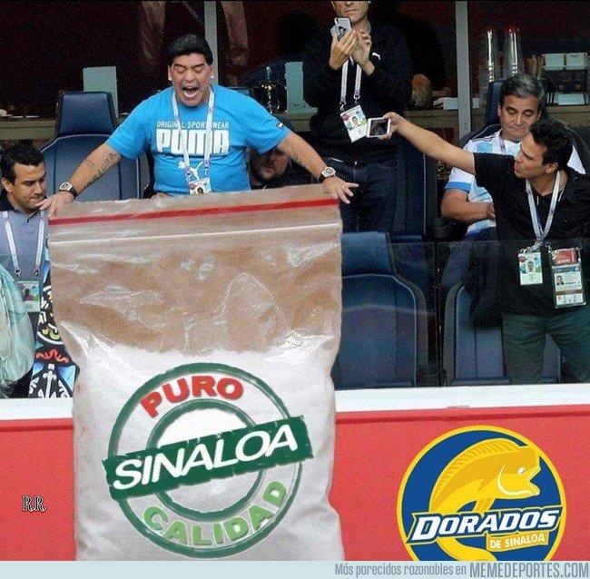 1049839 - Maradona ya listo para dirigir a Dorados