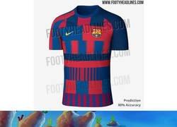 Enlace a No es la primera vez que Nike hace un collage para celebrar 20 años frabicando el uniforme de un club...