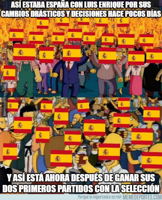 1050179 - Cómo ha cambiado la opinión de España hacia Luis Enrique en cuestión de pocos días