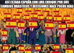 Enlace a Cómo ha cambiado la opinión de España hacia Luis Enrique en cuestión de pocos días