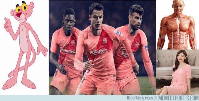 1050226 - Otros parecidos con la 3ª equipación del Barça