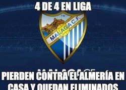 Enlace a El Málaga en la Copa del Rey