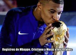 Enlace a Los registros goleadores de Mbappé comparados con Messi y Cristiano dan miedo