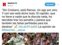 Enlace a ¿Qué ven mis ojos? Marca criticando a Ramos