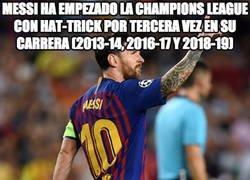 Enlace a Messi lanza el gafe al aire, ¿qué pasará este año?