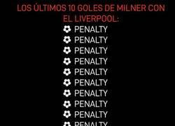 Enlace a Milner y los penaltis, mejor historia de amor que de la de Cristiano