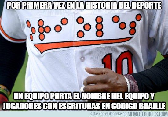 1050786 - Hecho histórico en el deporte.Total #Respect para los Orioles de Baltimore
