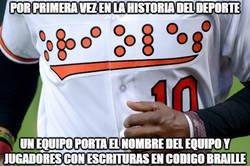 Enlace a Hecho histórico en el deporte.Total #Respect para los Orioles de Baltimore