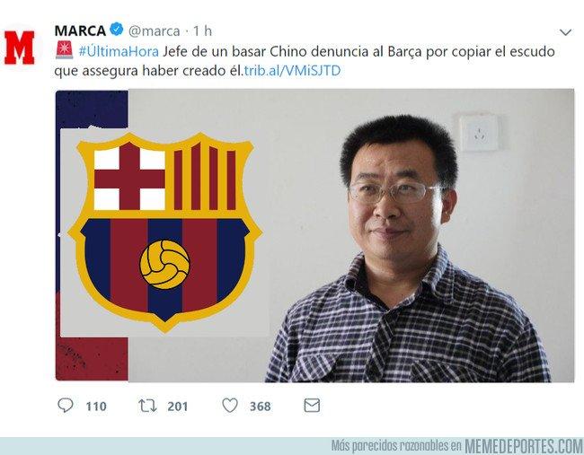 1051707 - La surrealista denuncia al Barça