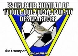 Enlace a Gran ejemplo el Samper C.F