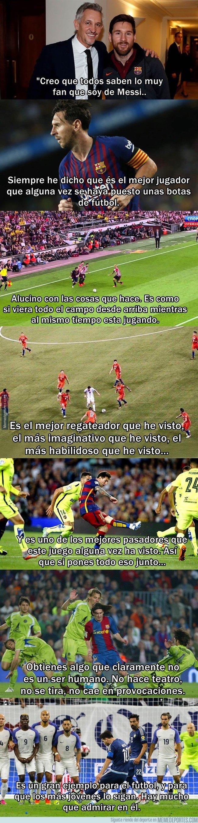 1052011 - Lineker hablando sobre Messi