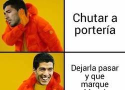 Enlace a Resumen del partido de Suárez contra el Tottenham