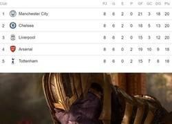 Enlace a Cuando ves triple empate y Arsenal en cuarto