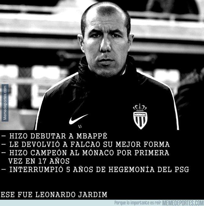 1052982 - Éste fue Leonardo Jardim, casi nada