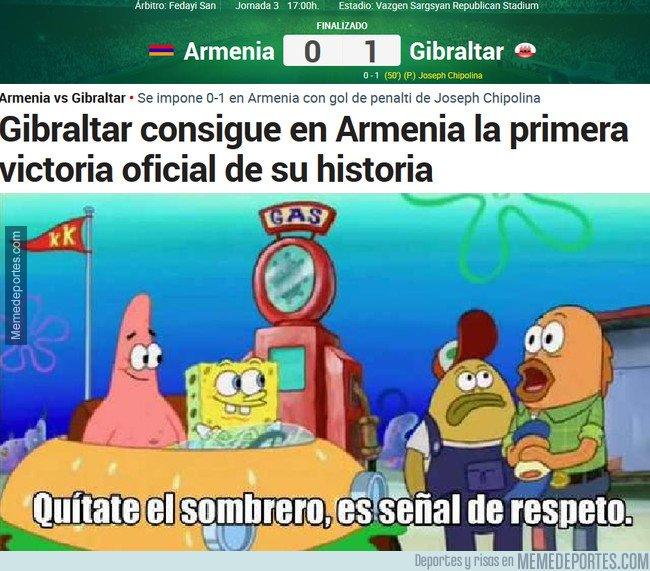 1053178 - HISTÓRICO: Gibraltar consigue su primera victoria oficial
