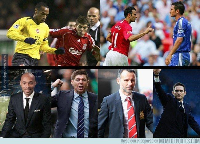 1053214 - Una generación de leyendas del fútbol inglés ahora son entrenadores