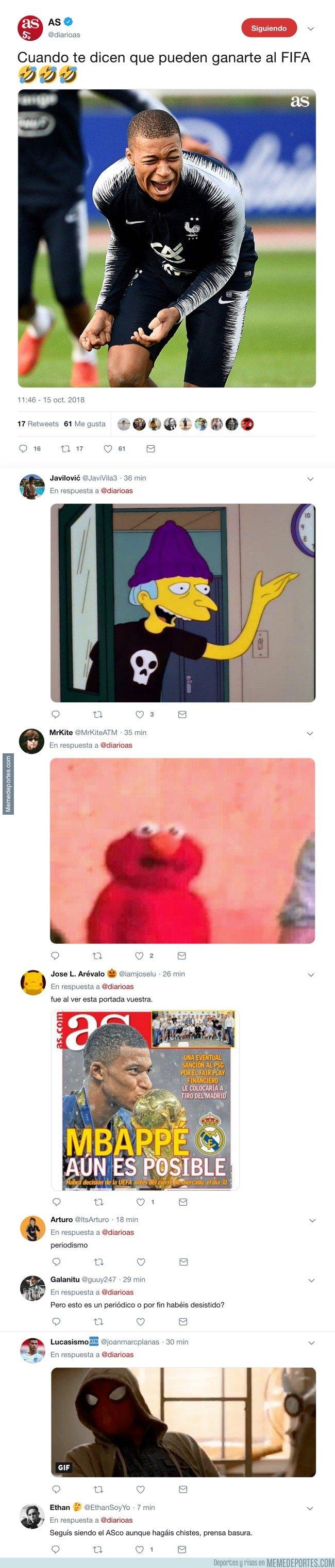 1053253 - El AS intenta hacer memes en twitter y la cosa no les sale como ellos se esperaban