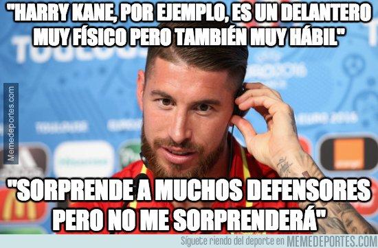 1053272 - Las declaraciones de Ramos antes del partido. El gafe en mayúsculas