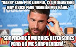 Enlace a Las declaraciones de Ramos antes del partido. El gafe en mayúsculas