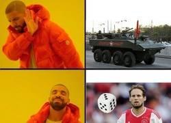 Enlace a No todos entendemos lo mismo por un tanque Blindado...