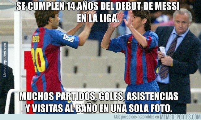 1053386 - El gran debut de Messi en liga