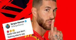 Enlace a Ramos se la saca de forma brutal publicando las imágenes donde se ve que no toca a Sterling