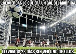 Enlace a ¡Casi un mes sin ver un gol del Madrid!