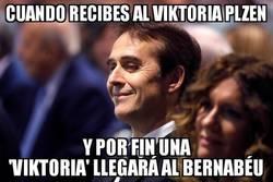 Enlace a El Bernabéu verá 'Viktoria' al fin