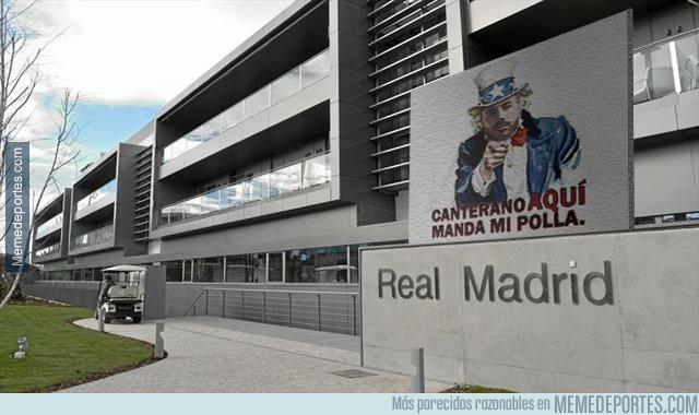 1053950 - La entrada a la ciudad Real Madrid