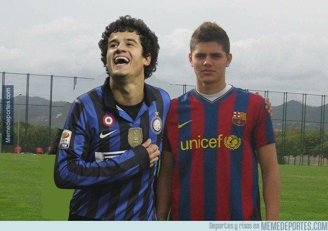 1053983 - Barça - Inter ¿Se cumplirá alguna ley del ex?