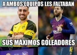 Enlace a Borussia y Barça, situaciones paralelas