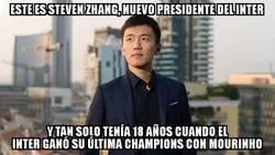 Enlace a ¡El nuevo presidente del Inter tiene 26 años!