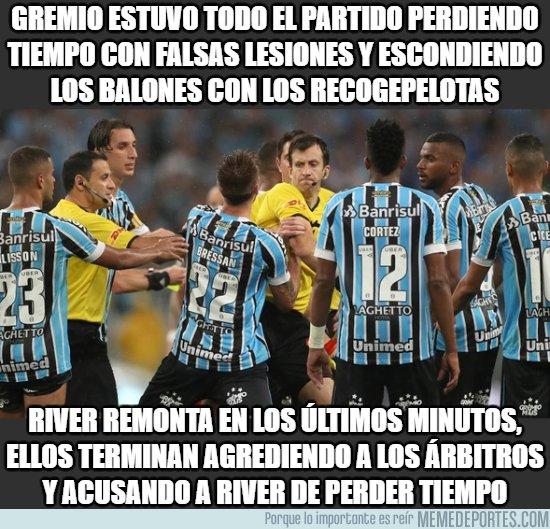 1055034 - A Gremio le dan de su propia medicina (Hazaña de River Plate en Brasil)