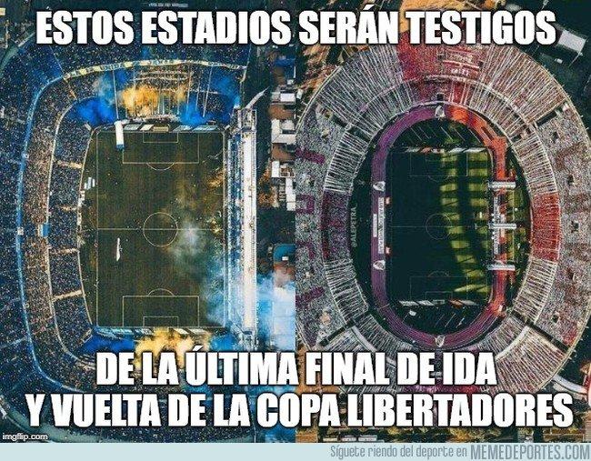 1055098 - Las finales de ida y vuelta han sido una tradición de la Libertadores durante 58 años