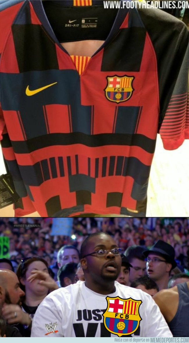 1055161 - Se filtra la camiseta conmemorativa del Barça de Nike
