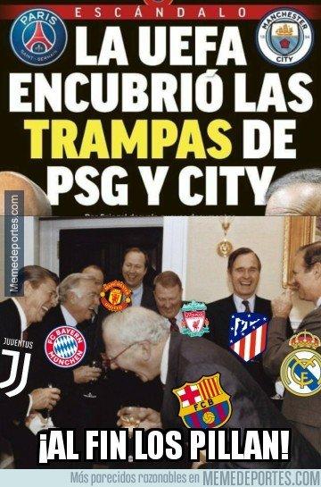 1055255 - Cuando pueden dejar sin Champions y sin sus estrellas a PSG y City