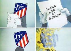 Enlace a El Atlético aún no ha ganado en Butarque desde que el Leganés está en primera